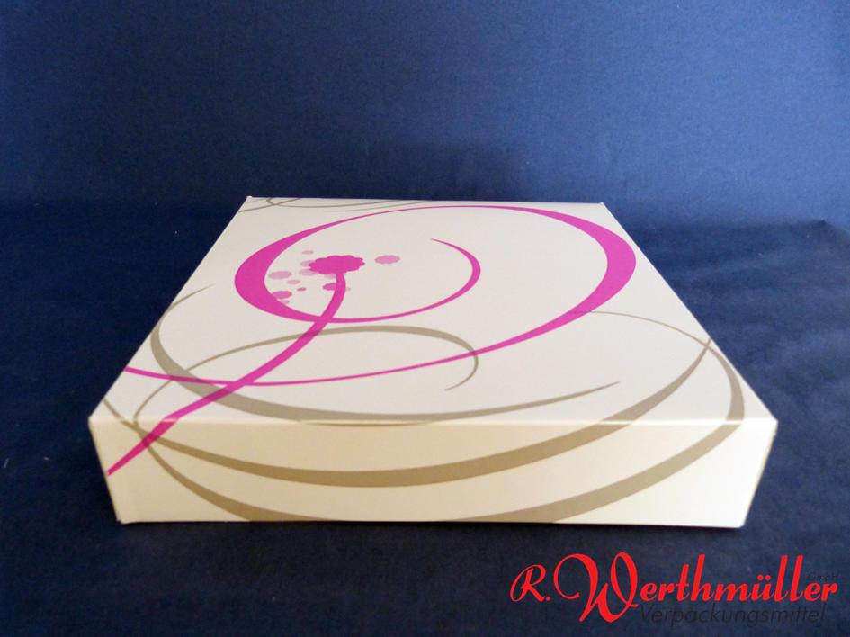 Tortenkartons 20x20x5 cm NEUTRALDRUCK