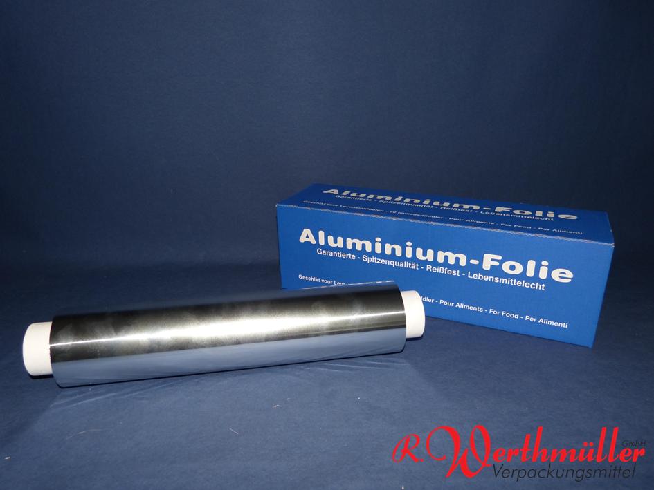 Alu-Folie Box 30 cm x 150 lfdm 14 my