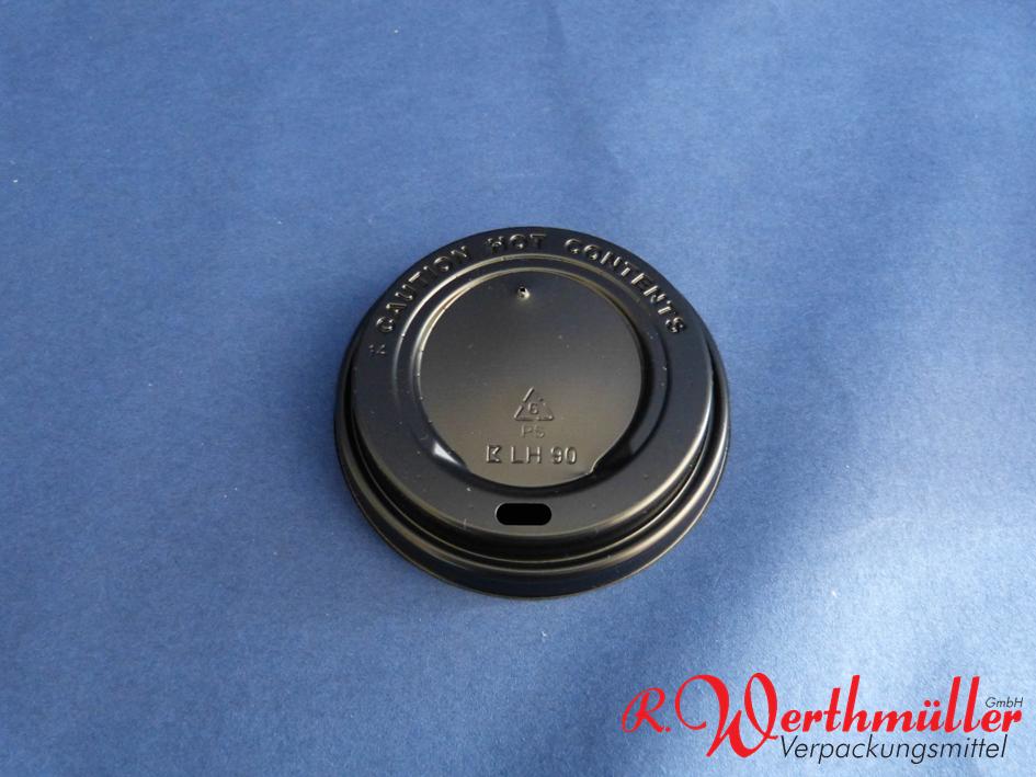 """Deckel für """"Coffee to go"""" 0,3l und 0,4l 90 mm schwarz"""