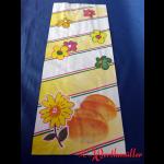 Bäckerfaltenbeutel BLÜTE Nr.8 20+8x48 cm