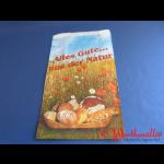 """Bäckerfaltenbeutel   """"ALLES GUTE""""  #1.5  14+6x24 cm 3-farbig"""