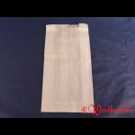Faltenbeutel weiß Nr. 3  16+6x28 cm gebleicht Kraft