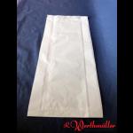 Faltenbeutel weiß Nr. 7  20+7x42 cm gebleicht Kraft
