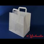 Tortentragetaschen 26+17x26 cm weiß