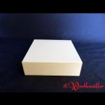 Tortenkartons 16x16x5 cm weiß