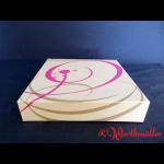 Tortenkartons 26x26x5 cm NEUTRALDRUCK