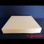 Tortenkartons 32x32x5 cm Weiß