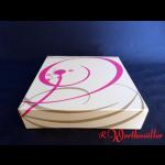 Tortenkartons 20x20x8 cm NEUTRALDRUCK