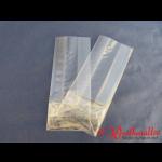 PP-Blockbodenbeutel 60+40x150 mm transparent