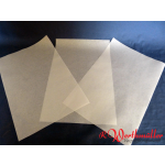 Pergawachs-Papier 1/8 Bogen