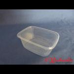 Rechteckbecher natur 200 g transparent