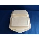 Styropor-Box #1635 BEIGE 2-geteilt *Inde*