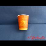 """Pappbecher """"Coffee to go"""" 0,2 l 80 mm Durchmesser"""