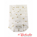 PP-Beutel 180x300mm transparent mit Sterne