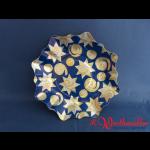 Pappteller 28 cm Form eines Sterns