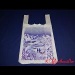 """Hemdchentragetaschen 30+18x55 cm """"Winterlandschaft"""""""