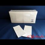 Zelltuch-Servietten 33x33 cm 3-lagig 1/8 F weiß