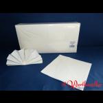 Zelltuch-Servietten 40x40 cm 2-lagig 1/4F weiß