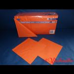 Zelltuch-Servietten mandarine 40x40 cm 3-lagig 1/4F