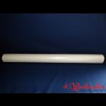 Damast-Tischtuchrolle 120 cm x 50 lfdm weiß Papier