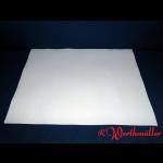 Damast-Tischtuchsets weiß 80x80 cm