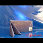 Zelltuch-Servietten dunkelblau (301) 33x33 cm 3-lagig 1/4F