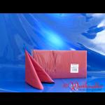 Zelltuch-Servietten bordeaux (309) 33x33 cm 3-lagig 1/4F