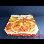 Pizzakarton 40x40x3,5 cm TREVISO 4-farbig