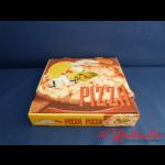 Pizzakarton 22x22x4 cm FRANCIA 4-farbig