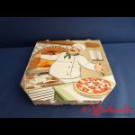 Pizzakarton 24x24x3 cm TREVISO 4-farbig