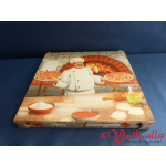 Pizzakarton 32x32x3 cm CUBO