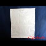 Poly-Tragetaschen weiß DKT 49x60+05 cm