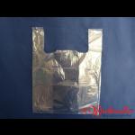 Hemdchentragetaschen transparent geblockt 37+24x48 cm