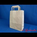 Papier-Tragetaschen braun 22x11x26 cm