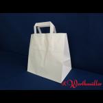 Papier-Tragetaschen weiß 26x17x26 cm