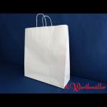 Kordel-Tragetaschen weiß 45x17x48 cm