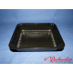 PP-Siegelschalen schwarz 227x178x40 mm