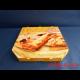 Pizzakarton 26x26x3 cm TREVISO 4-farbig