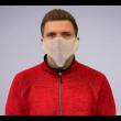 Mund- und Nasenschutzmaske weiß