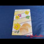 Bäckerfaltenbeutel BLÜTE Nr.2 16+6x23 cm
