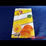Bäckerfaltenbeutel BLÜTE Nr.3 16+6x28 cm