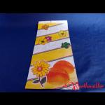Bäckerfaltenbeutel BLÜTE Nr.7 20+7x42 cm