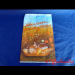 """Bäckerfaltenbeutel  """"ALLES GUTE"""" #5 20+7x32 cm 3-farbig"""
