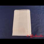 Faltenbeutel weiß Nr. 2  16+6x24 cm gebleicht Kraft