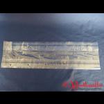 Polyfaltenbeutel gelocht 15+10x55 cm