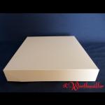 Tortenkartons 29x29x5 cm Weiß