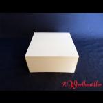 Tortenkartons 16x16x8 cm WEISS