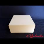 Tortenkartons 18x18x8 cm Weiß