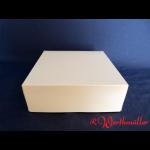 Tortenkartons 22x22x8 cm Weiß