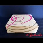 Tortenkartons 25x25x8 cm NEUTRALDRUCK